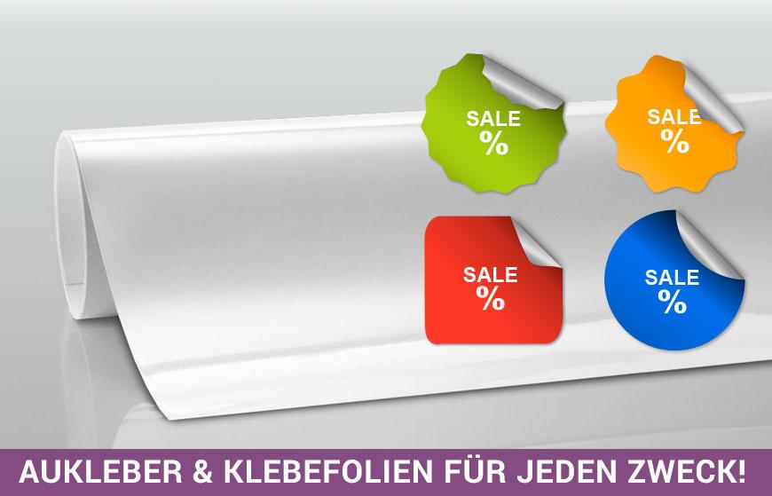 Aufkleber Drucken Klebefolien Drucken Etiketten Sticker